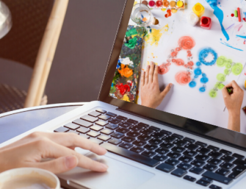 Art Therapy in the Virtual World – the Technology Connection